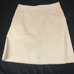 Banana Republic women's skirt cream pockets 2